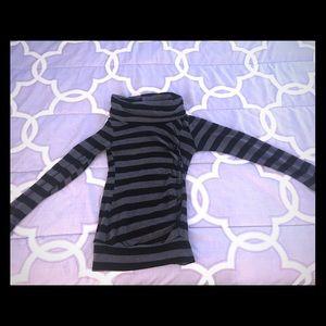 Dresses & Skirts - Long sleeve striped dress- size S